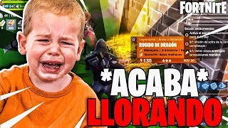 😭 I HAPPEN TO NOOB SCAMER AND THE END CRYing!😭 FORTNITE SAVE THE WORLD