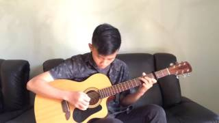 (Yoon Mirae) Always - Irfan Maulana Fingerstyle Guitar Cover - Descendats of the Sun OST