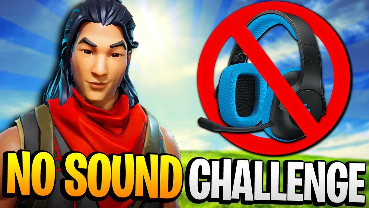 no sound at all fortnite