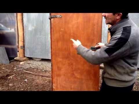 Mucit Hasan Kum'un Kapı Açma (Menteşe) Çalışması