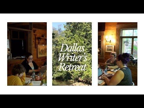 Voyeuristic Showers, Choreography, & Ghosts: A Texas Writer's Retreat Vlog