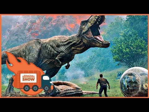 Jurassic World 2 Trailer Reactions - The Kinda Funny Morning Show 12.8.17