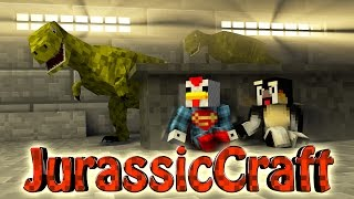 "Minecraft Dinosaurs | Jurassic Craft Modded Survival Ep 21! ""RAPTOR PACK"""