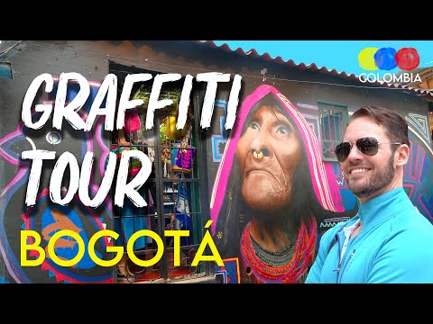 Discover the Original Bogotá Graffiti Tour – Traveling Colombia