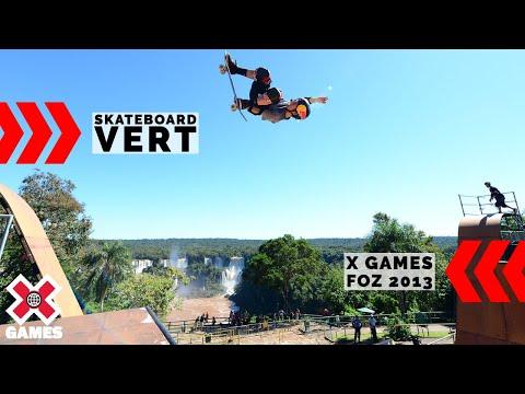 X Games Foz do Iguaçu 2013 Skateboard Vert: X GAMES THROWBACK | World of X Games