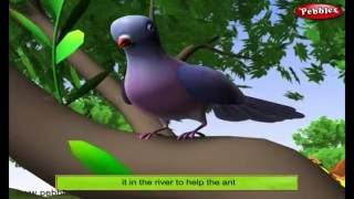 The Dove and The Ant | 3D Moral Stories For Kids in English | 3D Animal Stories in English
