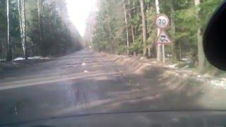 Дорога в Тейково. Ивановская область. Нано технологии.