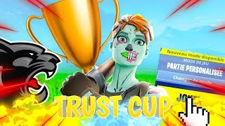 "PARTIE PERSO DUO ARENE FORTNITE TOURNOI ""TRUST CUP"" - 2000 V-BUCKS A GAGNER !"