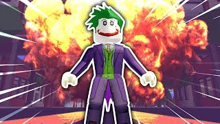 HOW TO BE THE JOKER IN ROBLOXIAN HIGHSCHOOL!!