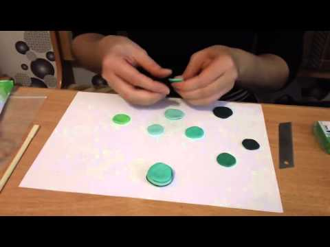 Как сделать Имитацию камня Малахит из Полимерной Глины