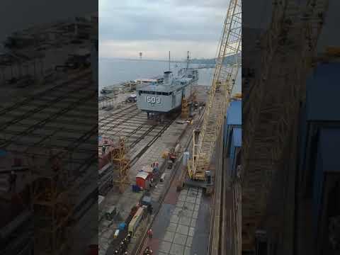 Malaysian Royal Navy Littoral Combat Ship. New Ship Construction. [LCS 5]