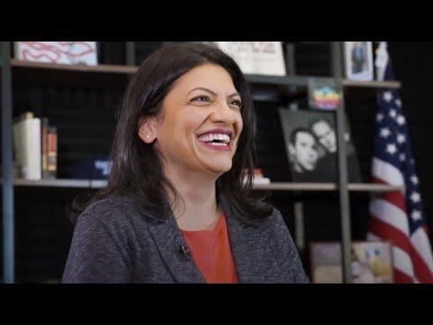 Rep. Rashida Tlaib Endorses Bernie Sanders for President