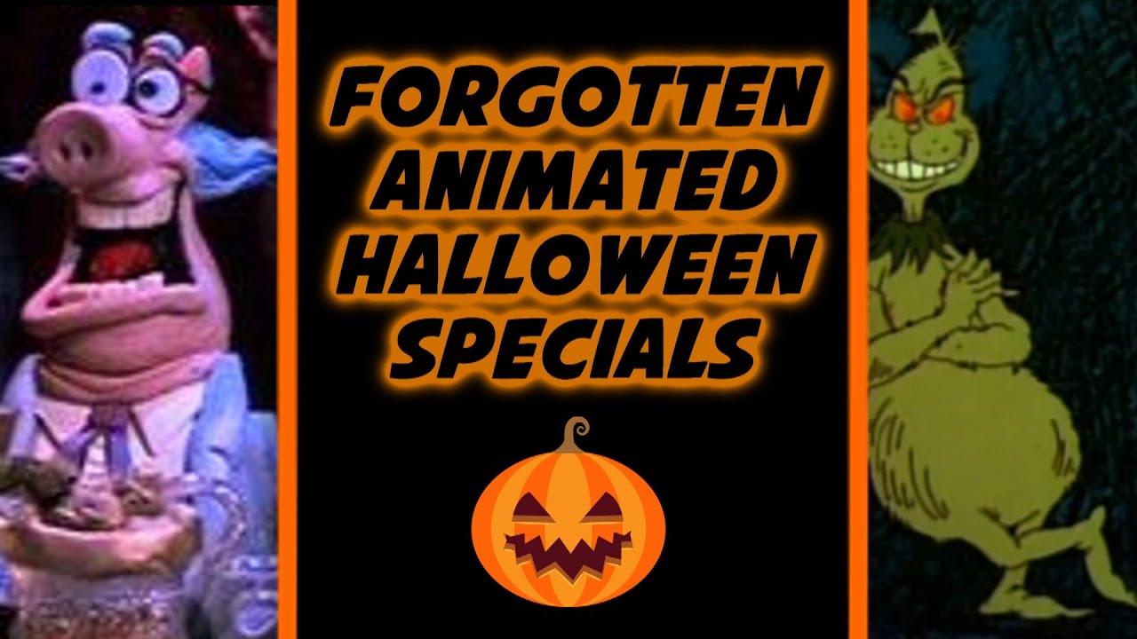 Top 10 Forgotten Animated Halloween Specials - Doctomato - YouTube