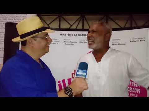 Sambrasil Entrevista  Jô Santana   Musical Dona Ivone Lara Um Sorriso Negro   Teatro Carlos Gomes