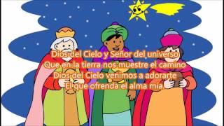 Cuando Los Reyes Vieron Al Niño Letra