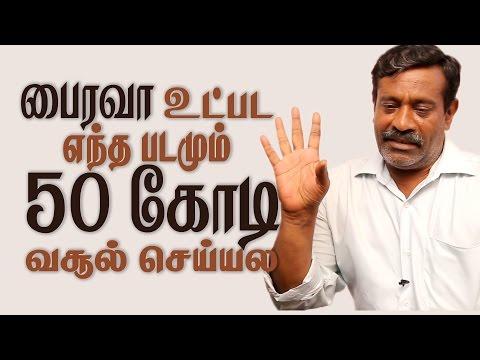 Thirai Vimarsagar Ramanujam explains Tamil Movies Distribution and Box Office Reports