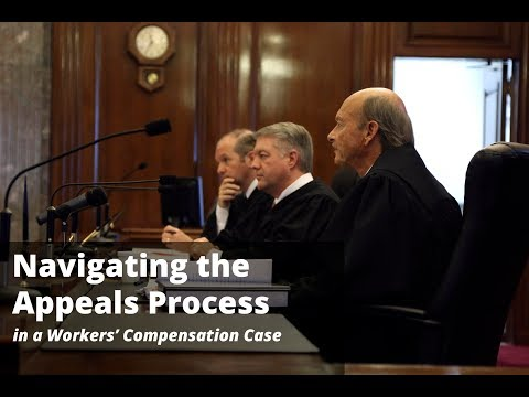 Navigating the Appeals Process in a Workers' Compensation Case