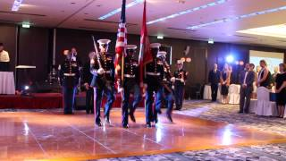 As the Adjutant at the 238th Marine Corps Birthday Ball 2013
