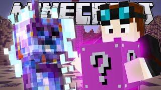Minecraft | LUCKY ROCKET CHALLENGE (Pink Lucky Blocks!!) | Mod Minigame