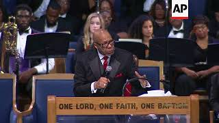 Controversial eulogy at Aretha Franklin funeral