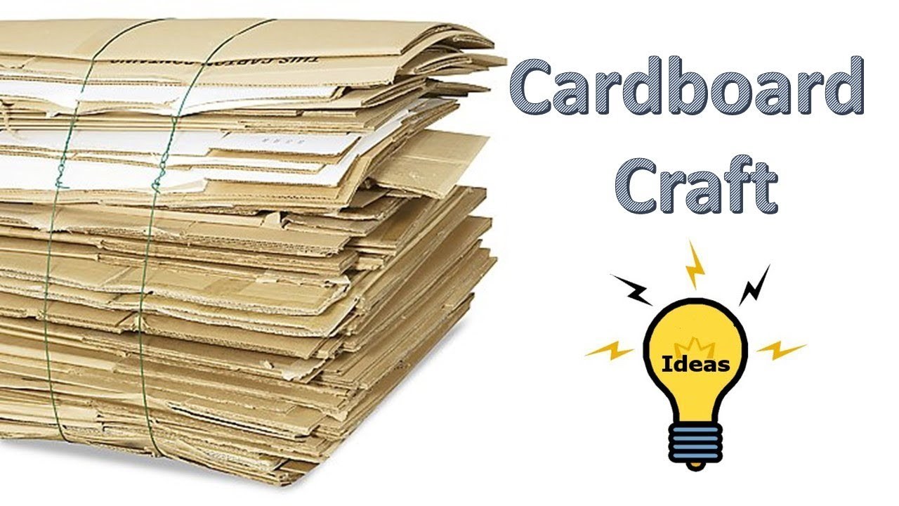 Cardboard craft ideas how to make home bank for kids for Best out of waste ideas for class 5 in craft