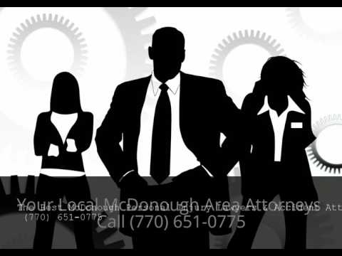 McDonough Personal Injury Lawyers & Accident Attorneys Fayetteville GA