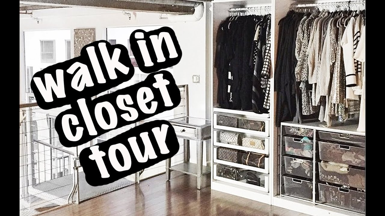 Walk In Closet Tour