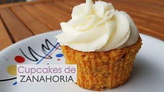 cupcakes de zanahoria frosting o betn de queso crema caseros