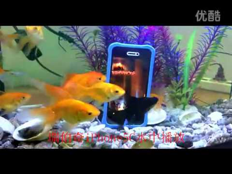 Ruiboqi iPhone 5C Waterproof Case Test In Water
