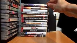 My PS3 Game Collection (Huge Collection!)