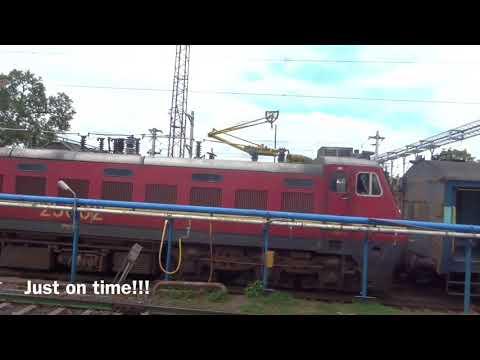 Solapur to Pune - Full journey on Udyan Express