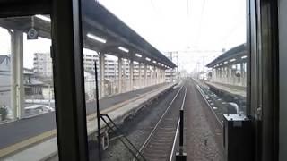 2018 01 展望・JR東海道線 223系・新逢坂山トンネル~守山 大津~膳所・キヤ95 石山駅・MH