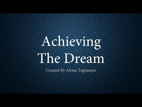 Achieving the Dream (Elementary Education) - Make College Happen Challenge