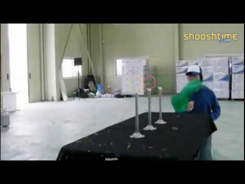 Master of business card throwing youtube 214 reheart Image collections