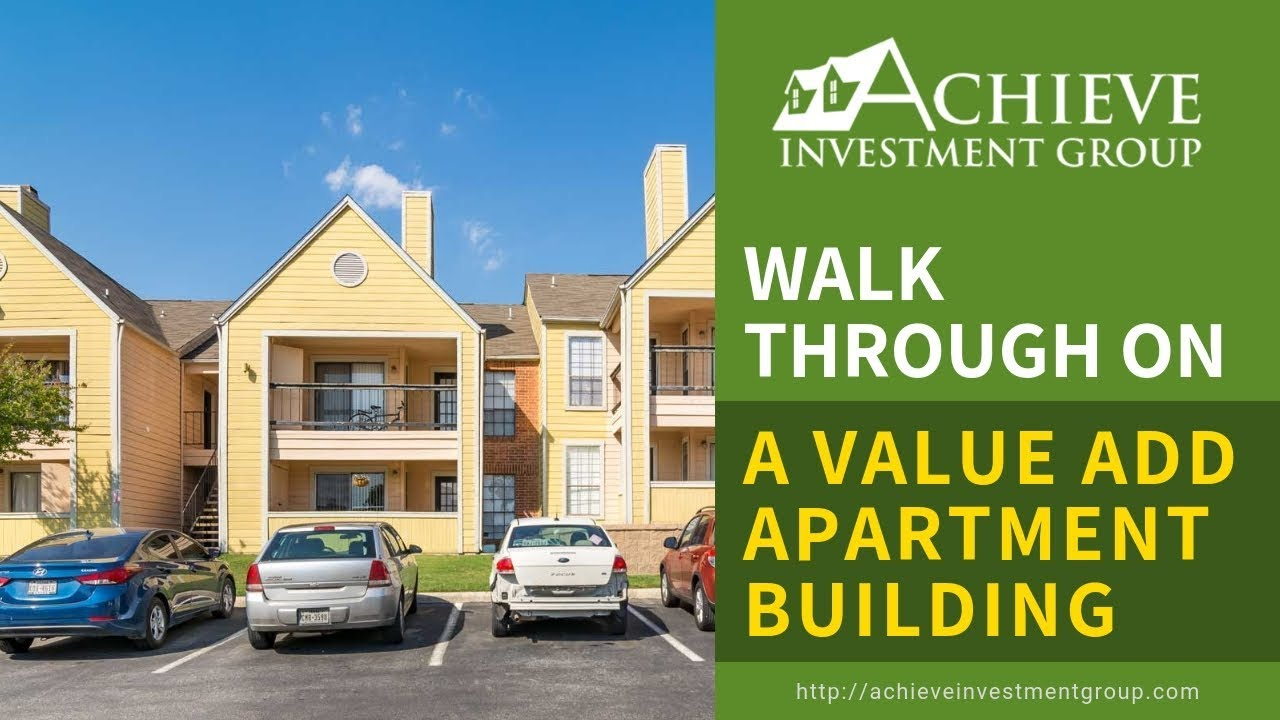 Walk through on a value add apartment building with James Kandasamy with  Achieve Investment Group