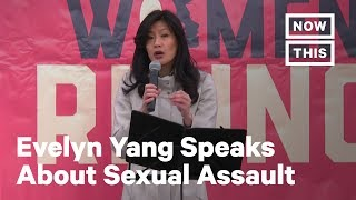 Women's March 2020: Evelyn Yang Speaks About Sexual Assault | NowThis