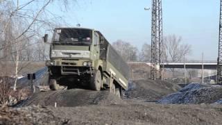 Jazda ciężarówką wojskową – Ostrawa video