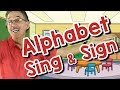 Alphabet Sing and Sign | ASL Song for Kids | Alphabet and Letter Sounds | Jack Hartmann