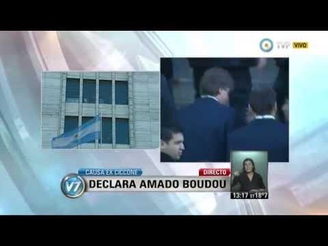 Visión 7 - Causa ex Ciccone: Declara Amado Boudou (1 de 2)