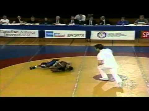 1996 Olympic Trials: 62 kg Final Marty Calder vs. Ainsley Robinson