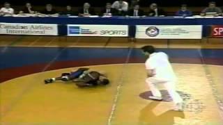 1996 Olympic Trials: 62 kg Final Marty Calder vs. Ainsley Robinson