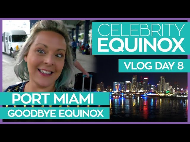 Goodbye Equinox Hello Kittehs | Celebrity Equinox Cruise Vlog Day 08