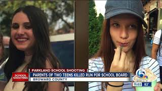 Parents of 2 teens killed in Parkland shooting announce run for Broward County school board