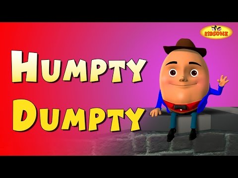 Humpty Dumpty 3D Animation English Rhymes For Children