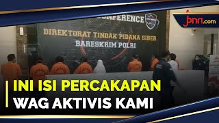 Kadiv Humas Polri Ungkap Isi WAG Aktivis KAMI - JPNN.com