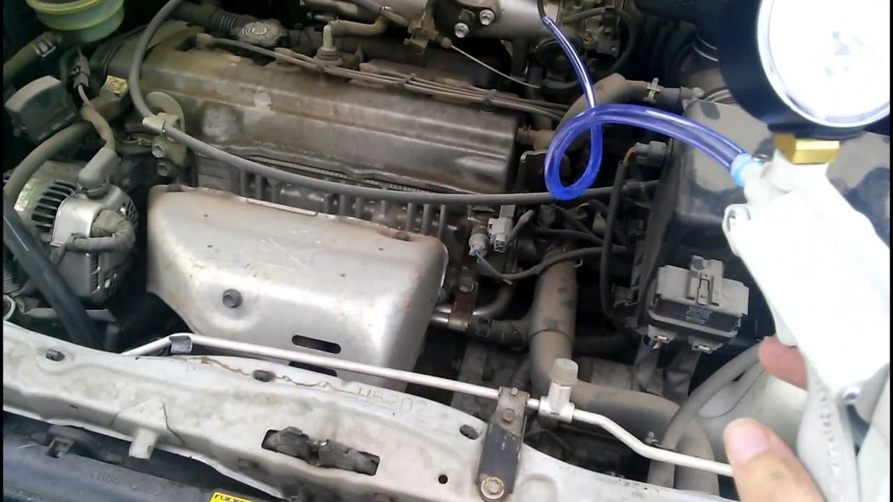 Toyota Camry Fuel Filter Location 2000