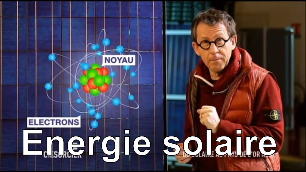 Comment fonctionnent les panneaux solaires ? Jamy vous explique !