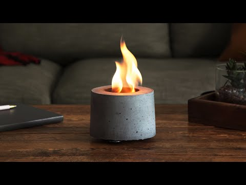 FLIKR Fireplace | Rubbing Alcohol Tabletop Fire Pit