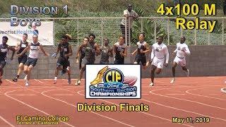 2019 TF - CIF-ss Finals (D1) - 4x100 (Boys)