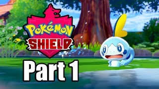 POKEMON SHIELD Gameplay Walkthrough Part 1 | Sobble for Starter - No Commentary [Switch 1080p]
